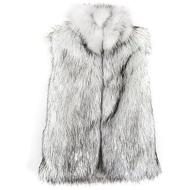Chaleco mujer talla grande chaleco pelo sintético mujer chaleco pelo sintético sin