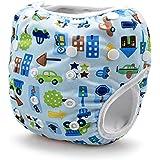 Storeofbaby Pannolini da nuoto per bambini riutilizzabili Pantaloni da nuoto per neonato 0-36 mesi