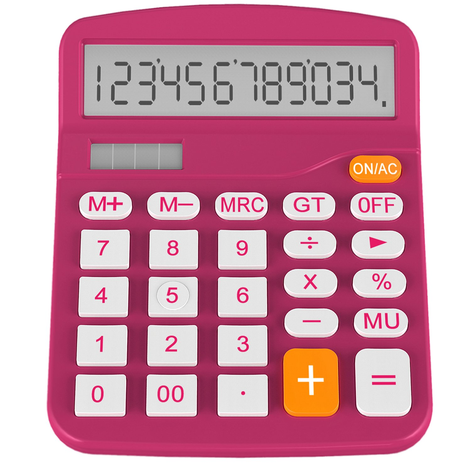 Calculator, Helect Standard Function Desktop Calculator (Plum) - H1001C H1001C-Calculator-PL
