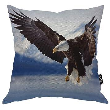 Amazon.com: Moslion - Funda de almohada de 3 tonos de 18.0 x ...