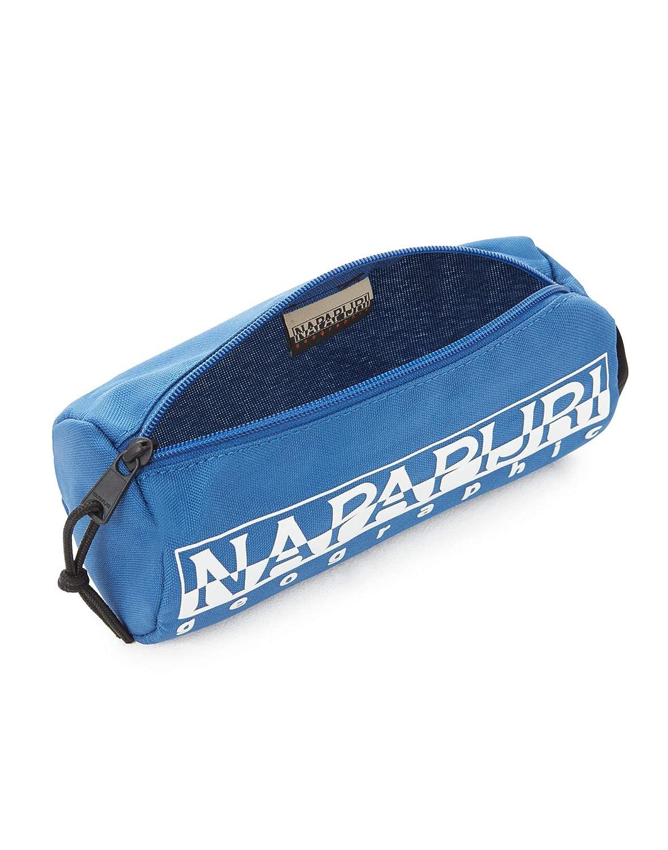 Napapijri HAPPY PENCIL CASE Astuccio Blu 22 cm Blu Marine