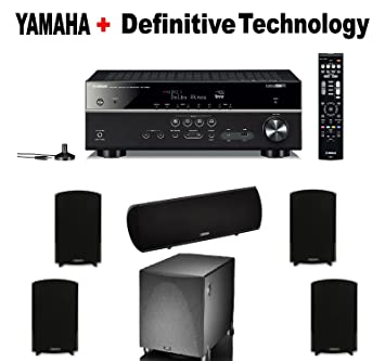 Amazon Yamaha Expandable Audio Video Component ReceiverBlack
