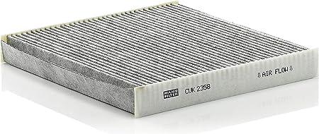 Original Mann Filter Innenraumfilter Cuk 2358 Pollenfilter Mit Aktivkohle Für Pkw Auto