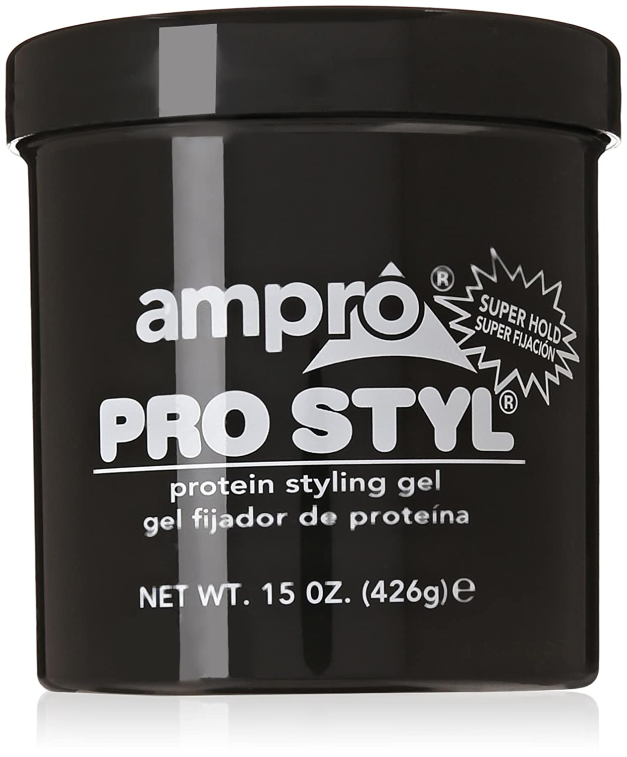 Amazon Com Ampro Pro Styl Protein Super Hold Styling Gel 15 Ounce Hair Care Styling Products Beauty