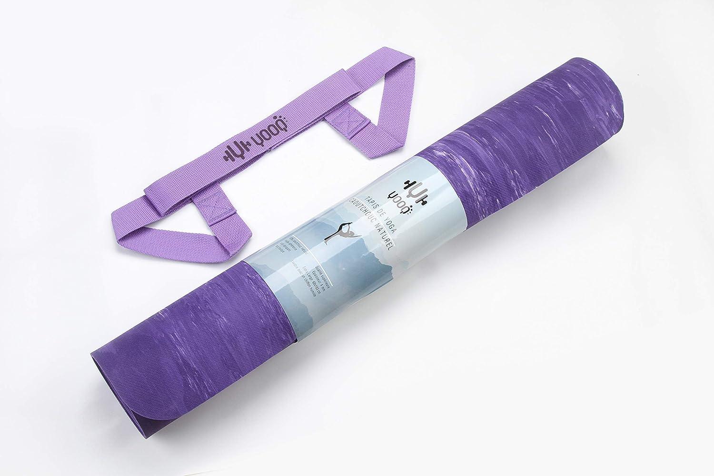 YOOQ Esterilla de Yoga Pure 100/% Caucho Natural Antideslizante Extremo y respetuosa con el Medio Ambiente