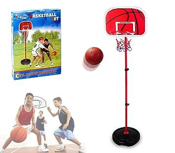 MEDIA WAVE store 400067 Playset basquet para niños con la Altura ...