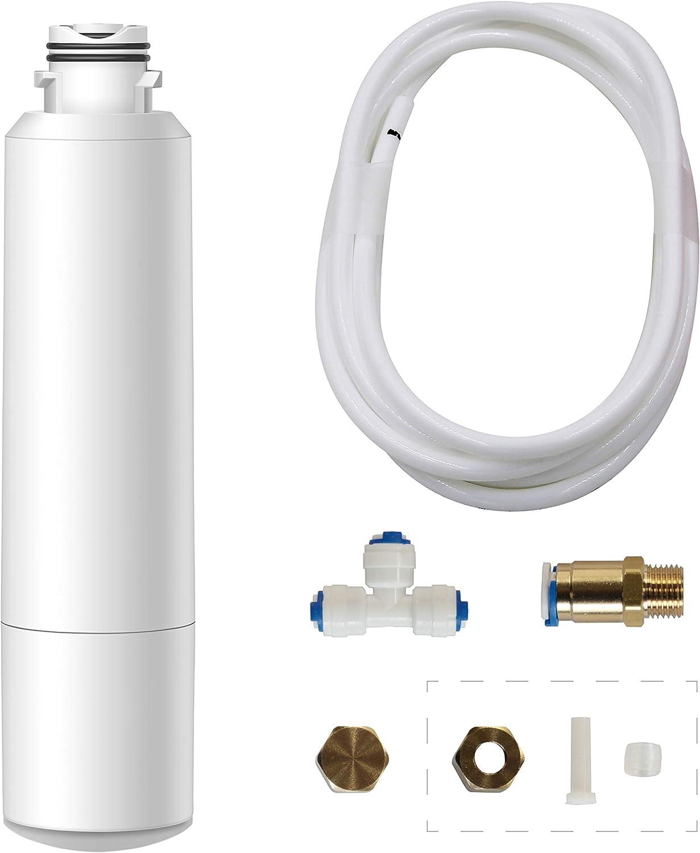 Waterdrop BP-627 refrigerator filter bypass accessory kit, replaces Samsung DA29-00020B, DA29-00020A, HAF-CIN/EXP, Kenmore 46-9101