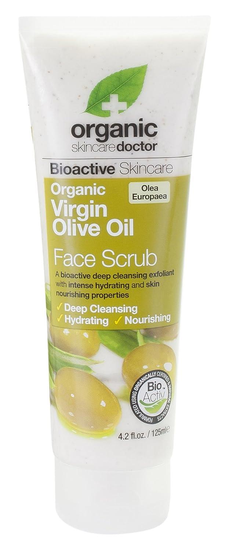 Dr. Organic Olive Oil Face Scrub - Scrub Viso 125 ml Dr. Organic Ltd 5060176673472 DRC07022_-125