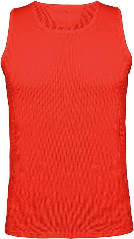 Guuja Camisa Funcional Sin Mangas Hombre Camiseta sin Mangas Camisa para Correr Musculosa Transpirable: Amazon.es: Deportes y aire libre