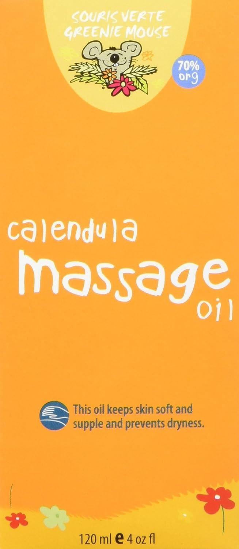 Souris Verte Natural Organic Baby Bath and Massage Oil, 120ml Pro-Merit CA 902
