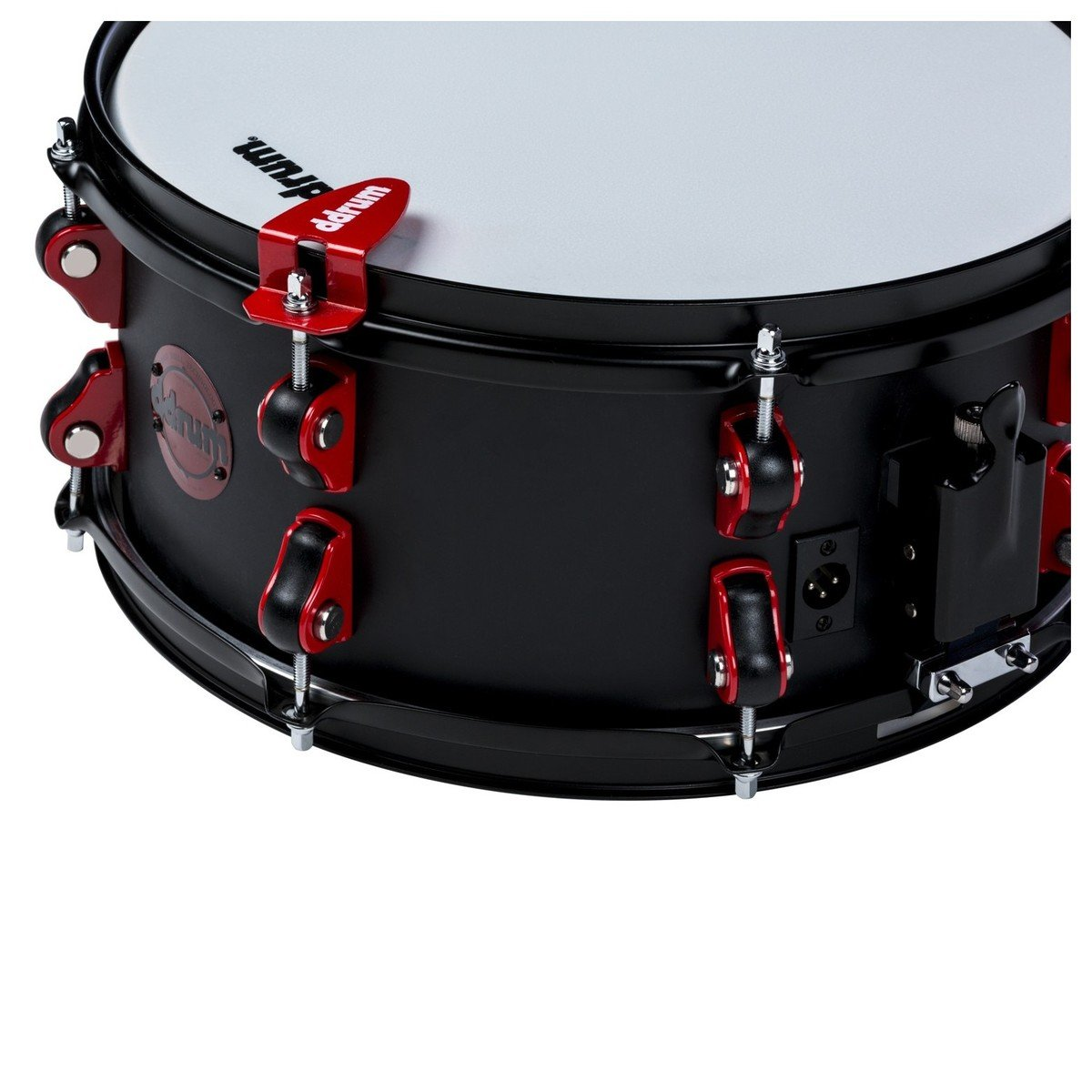 Ddrum Hybrid Snare Drum with Trigger 13 x 6 in. Satin Black by Ddrum