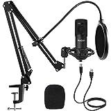 Studio USB Condenser Microphone, ikedon...