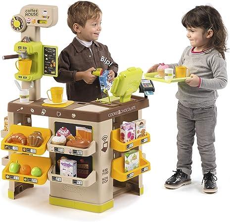 Cafetería Coffee House con luz, sonido y 57 accesorios (Smoby ...