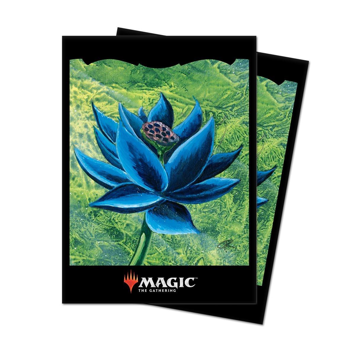 Black Dragon /& Magic The Gathering Card Sleeves Black Lotus Design Portable Ultra Pro Deluxe Card Carrying Case Bag Bundle
