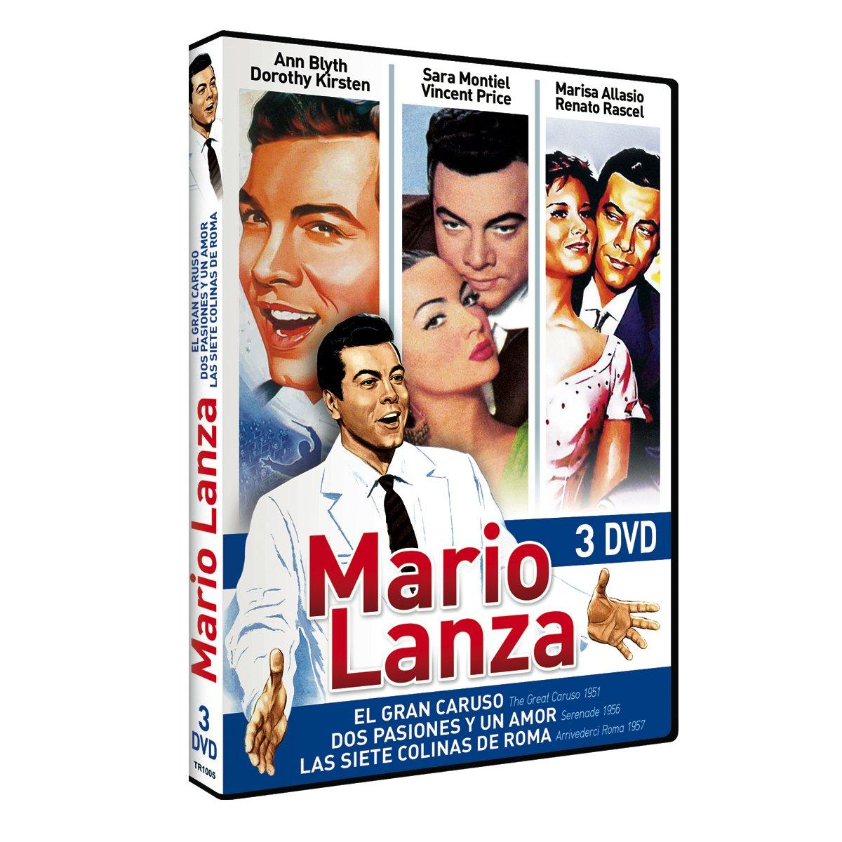 Pack: Mario Lanza (Un Gran Caruso + Dos Pasiones Y Un Amor + Las Siete Colinas De Roma) [DVD]