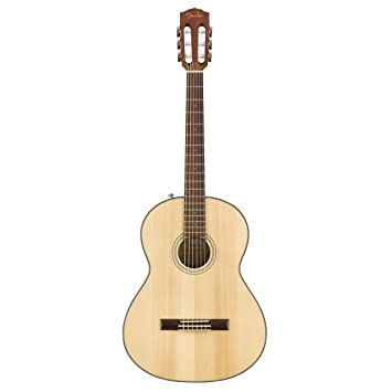 Fender CN-60S - Guitarra acústica (nailon): Amazon.es ...