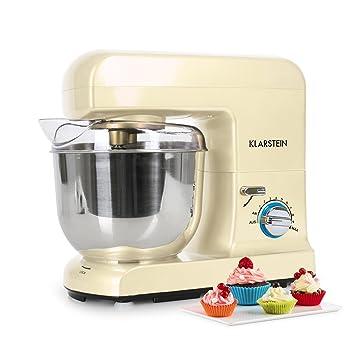 Klarstein Gracia Morena • Robot de cocina • Batidora • Amasadora • 1000 W • 5