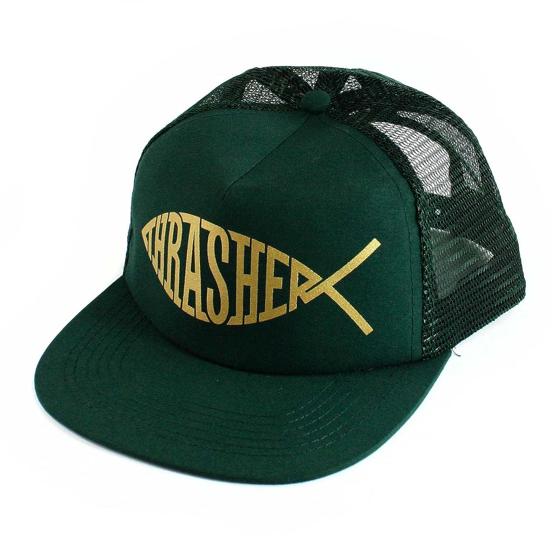 GORRA THRASHER FISH MESH SNAPBACK GREEN: Amazon.es: Ropa y accesorios
