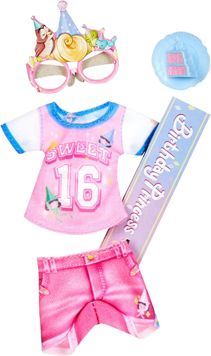 Hasbro Disney Princess Comfy Squad Fashion Pack for Aurora Doll Doll Sold Separately Clothes for Disney Fashion Doll Toy