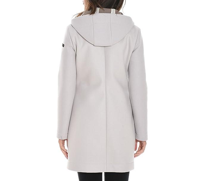 Rrd Damen W1753082 Grau Wolle Mantel: : Bekleidung