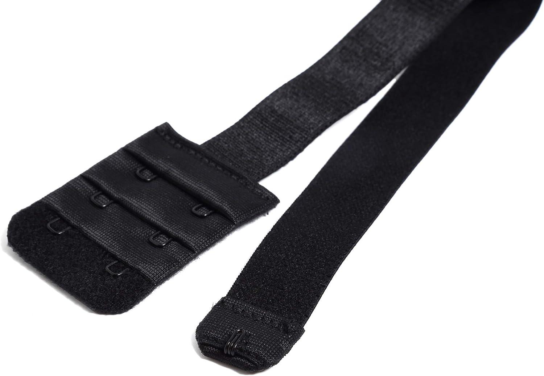 3Hook Bra Strap Converter for Women Backless Dress YARBAR Low Back Bra Extender 2 Hook
