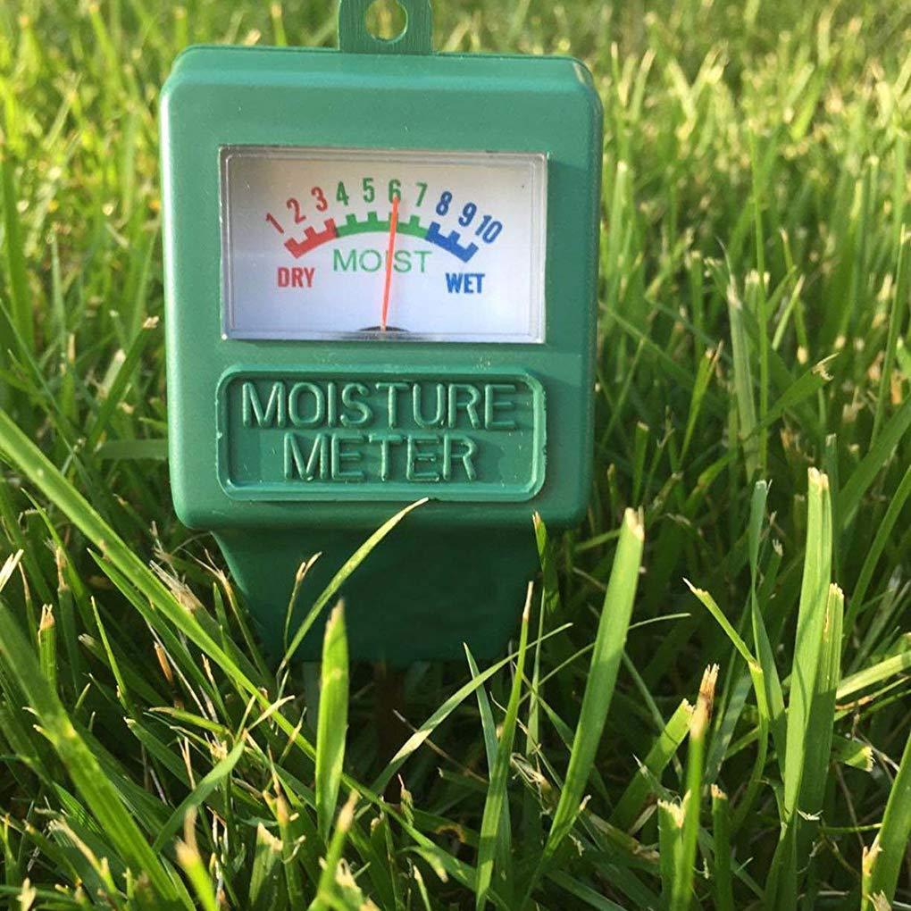Lorsoul Soil Moisture Meter Garden Terreno della pianta igrometro Detector Giardinaggio Agricoltura umidit/à Analyzer