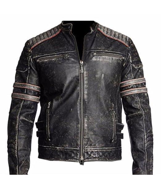 Amazon.com: Elegante colección de chaquetas de piel de ...