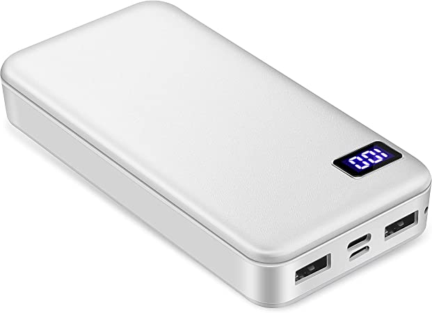 BOTKK Bateria Externa para Movil,Power Bank 20000mAh,Cargador ...