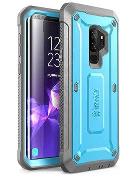 SupCase Funda para Samsung Galaxy S9 Plus [Unicorn Beetle Pro] Carcasa Rígida de Cuerpo Completo con Protector de Pantalla Incorporado, Azul