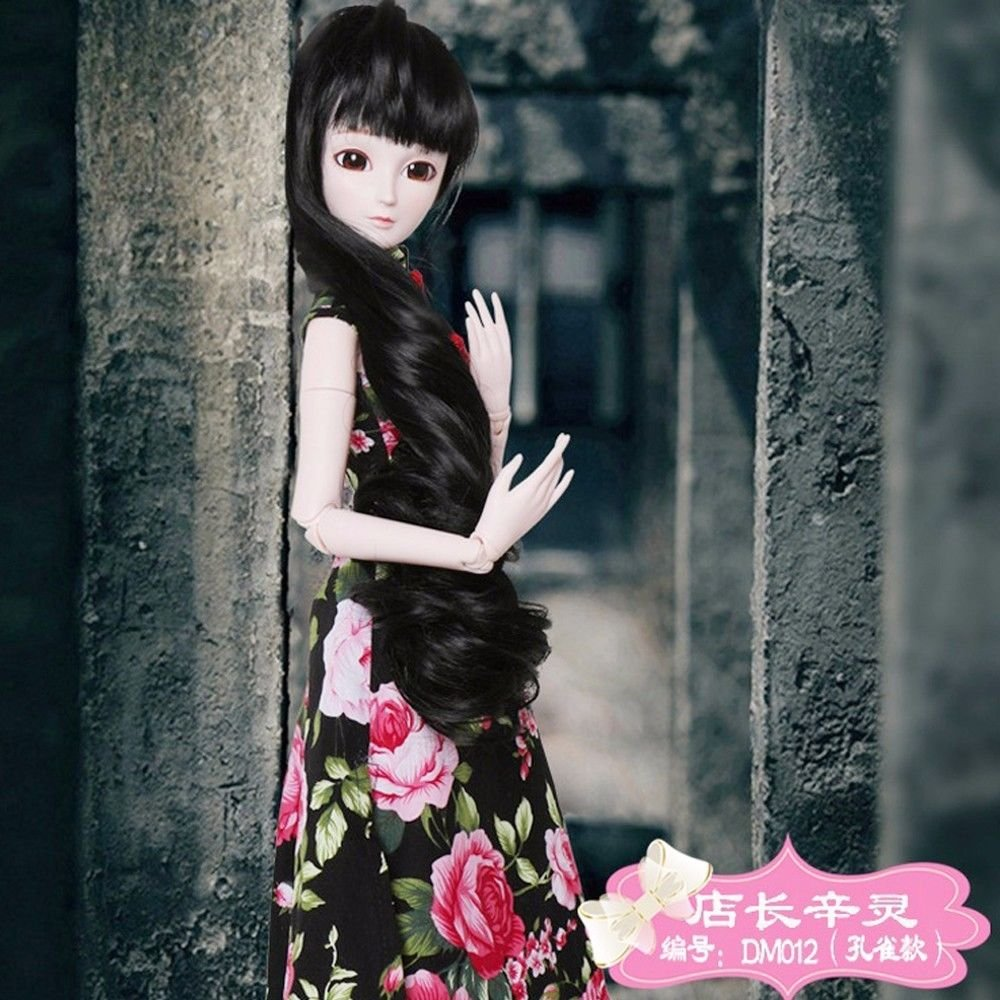 Chinese Cheongsam Donna 1/3 SD Doll 60cm 24'' Ball Jointed BJD Dolls Full Set Reborn Toy SD Surprise Doll by EVA BJD (Image #7)