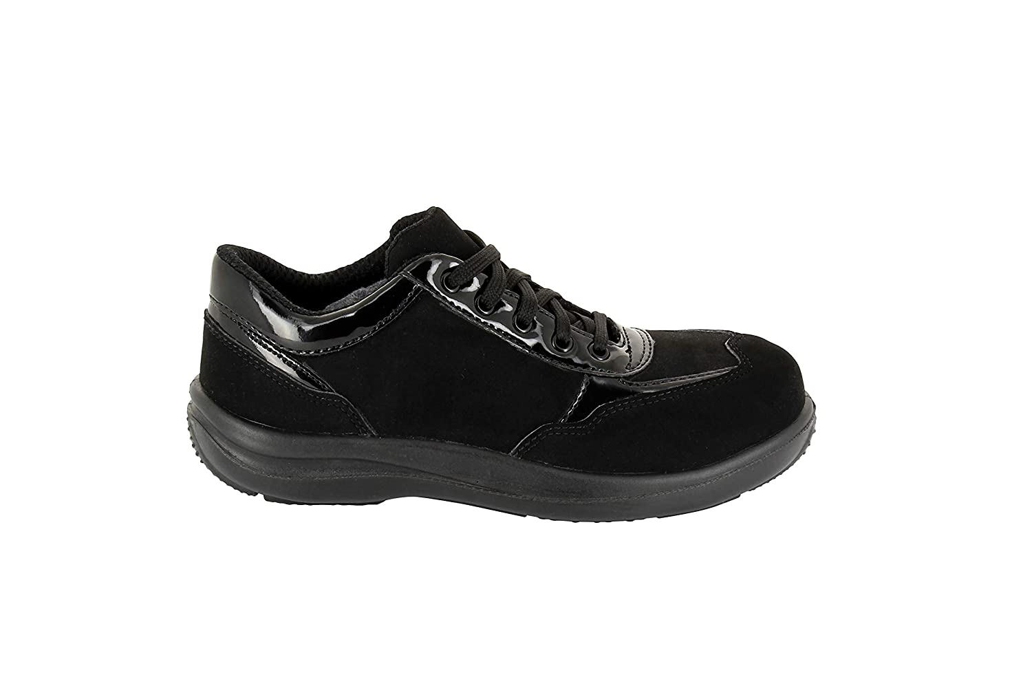 Foxter - Safety Shoes   for Women   High Comfort   Work Trainers   Light and Breathable   Waterproof   Metal Free   S3 SRA
