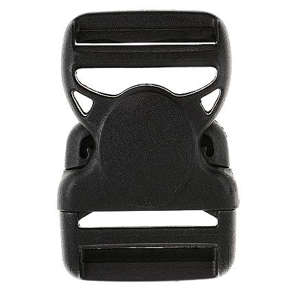 IPOTCH 1 und Hebillas de Plástico Cierre de liberación rápida de plástico Lateral Clips para Cinturón