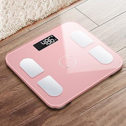 NZ-weight scale Básculas de baño electrónicas, Cuerpo de Vidrio Templado, Medida de