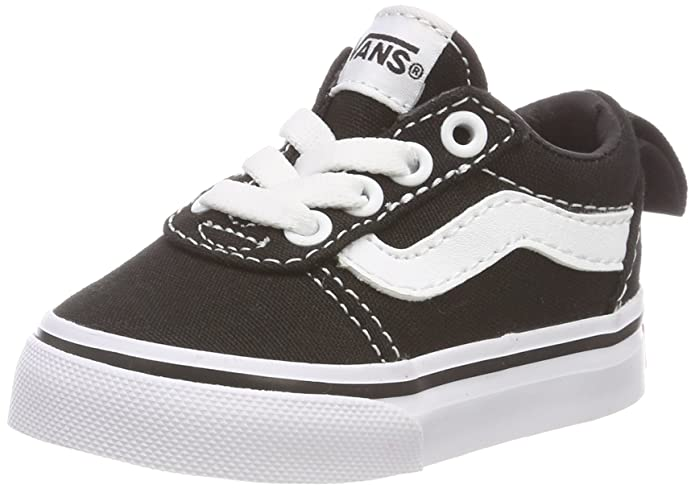 Vans Unisex-Baby Ward Canvas Sneakers Schwarz