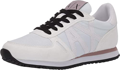 Armani Exchange Retro Running Sneakers, Zapatillas para Mujer ...