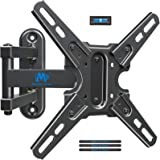 """Mounting Dream Full Motion TV Mount with Swivel and Tilt, TV Wall Mount Fits Most 13-43"""" Led, LCD TVs and Monitor up to 50 LB"""