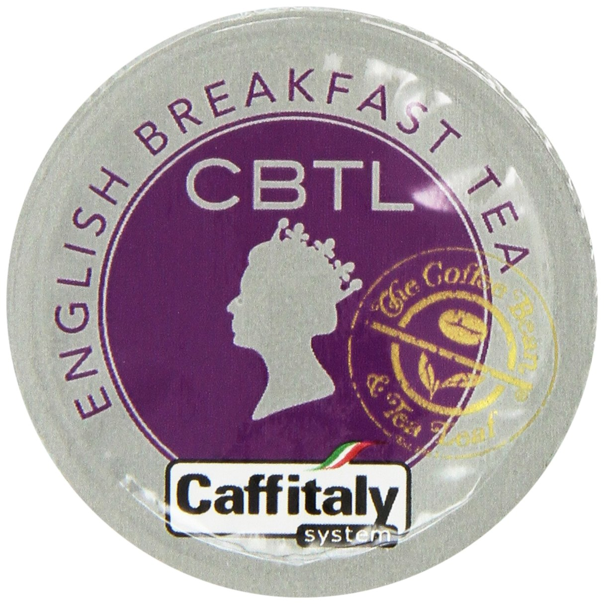 CBTL English Breakfast Tea Capsules By The Coffee Bean & Tea Leaf, Net Wt. 32.5g, 10 Count Box by Coffee Bean & Tea Leaf