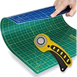 Quilting Starter Kit: Rotary Cutter and Cutting Mat Combo from Quilting Bee (RCCMCC)