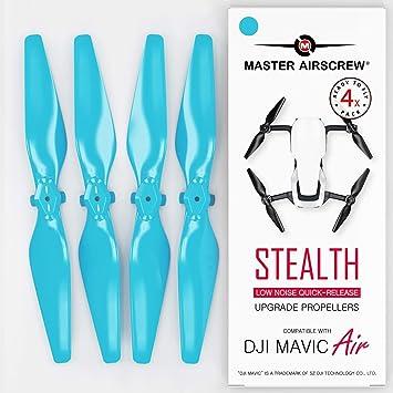 MAS Upgrade Propellers for DJI Mavic AIR in Black x4 in Set