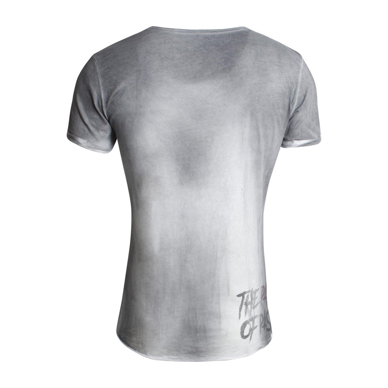 T-Shirt MT DOUBT für Herren - von Key Largo - Farbe Anthra - Outdoor - T-Shirt  mit Fotoprint auf der Vorderseite - Frühling-Sommer 2017 - Casual Style: ...