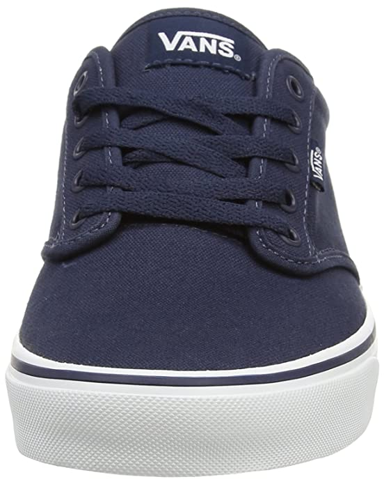 Amazon.com | Vans Atwood, Mens Low-Top Sneakers, Blue (Canvas - Navy/White), 11 UK (46 EU) | Skateboarding