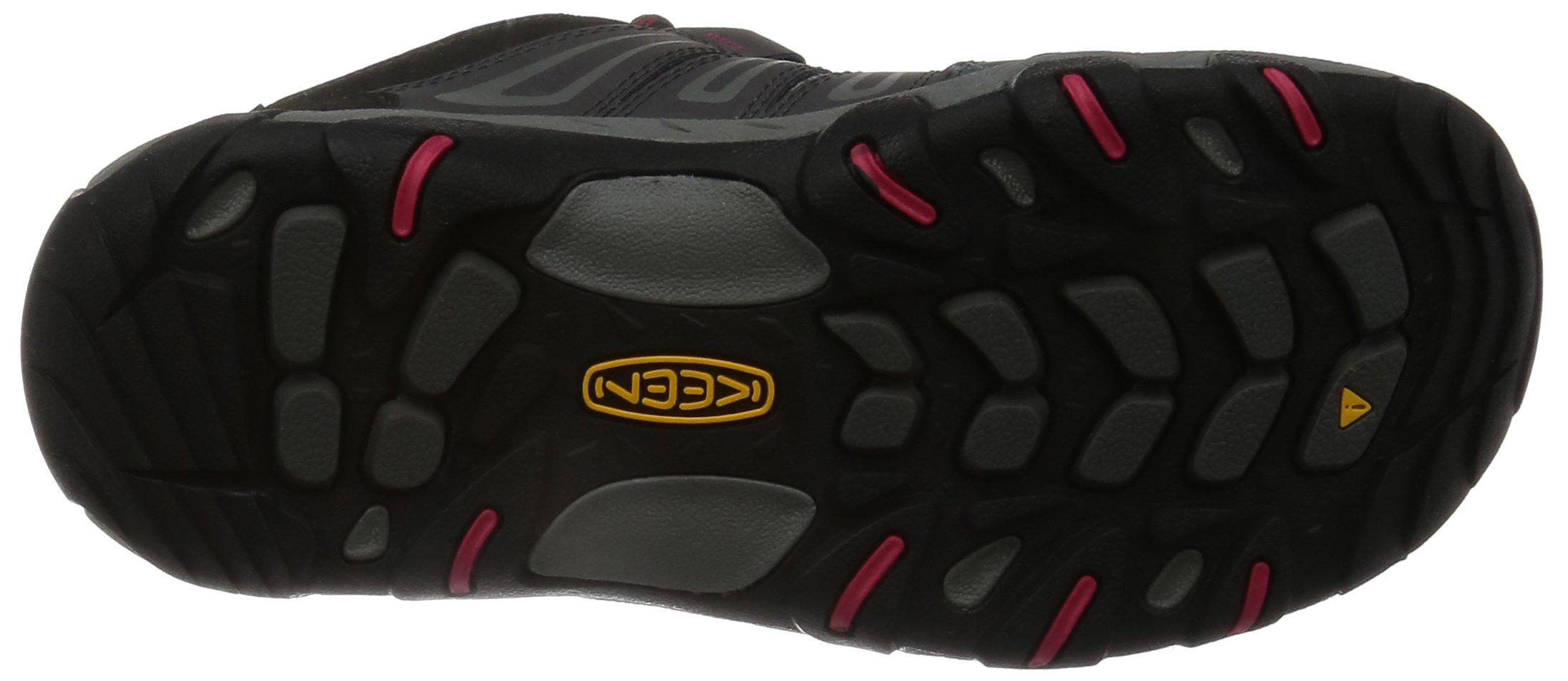 KEEN Women's Oakridge Waterproof Shoe, Magnet/Rose, 9 M US by KEEN (Image #3)