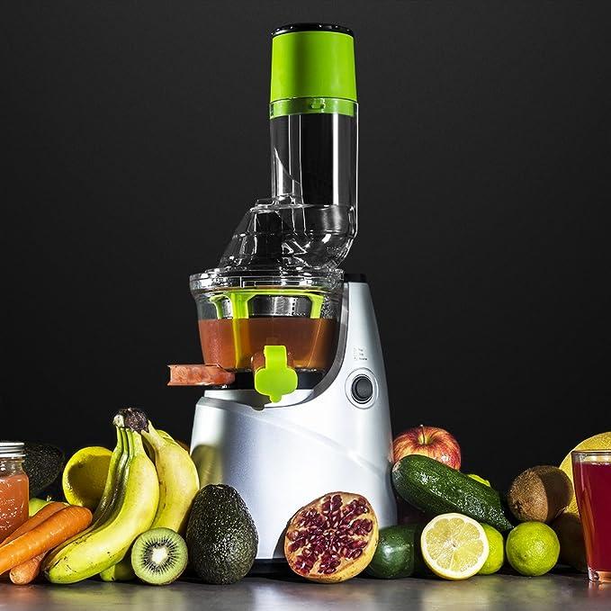 Cecotec Licuadora de Prensado en Frío Cecojuicer Pro. Para Frutas ...