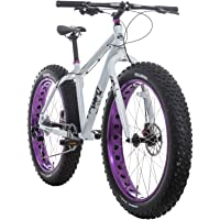 Framed Minnesota 1.0 17' Womens Fat Bike (White/Purple)