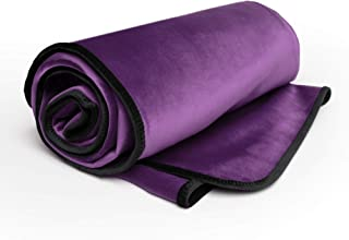 product image for Liberator Decor Fascinator Throw - Moisture Proof Sensual Blanket, Aubergine Microvelvet