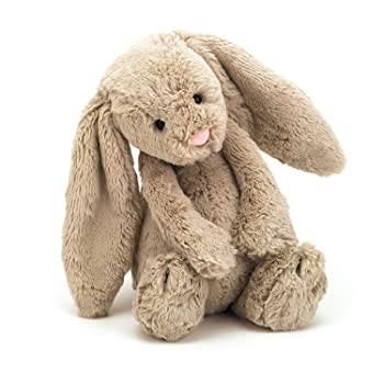 Jellycat Bashful Bunny Stuffed Animal For Kids
