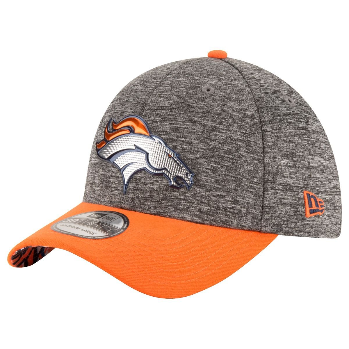 NEW ERA 39THIRTY – Gorra NFL 2016 Draft Denver Broncos gris ...