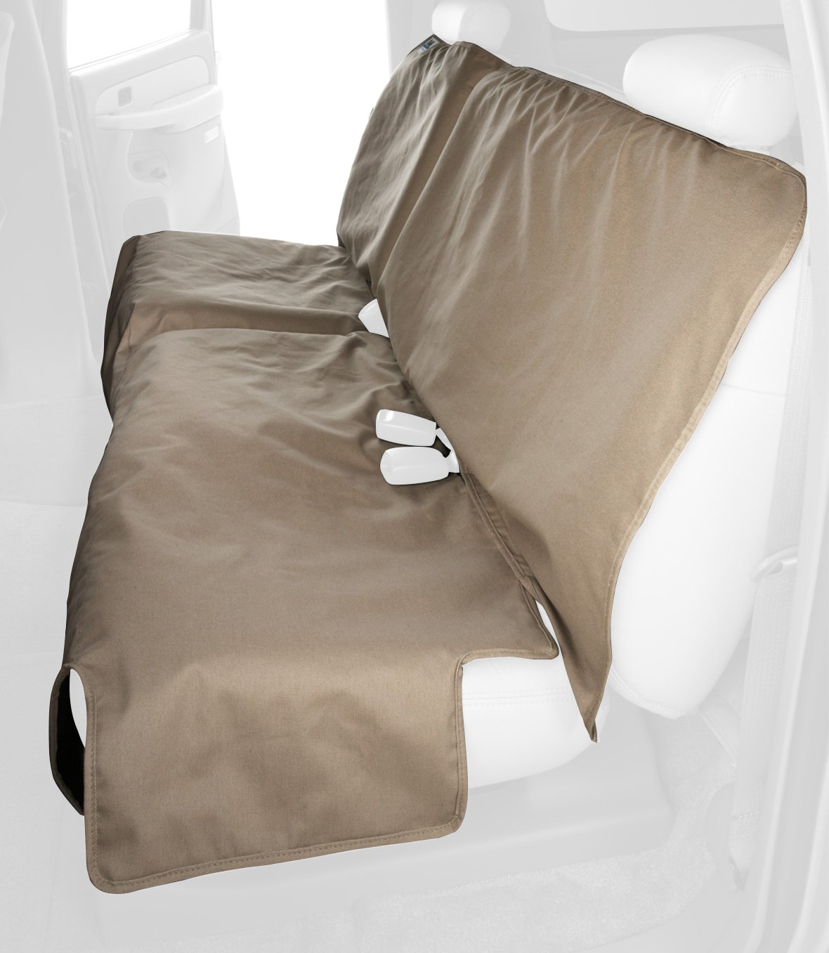 Canine Covers Econo Plus 2nd Row Semi-Custom Fit Seat Protector - Polycotton (Taupe)
