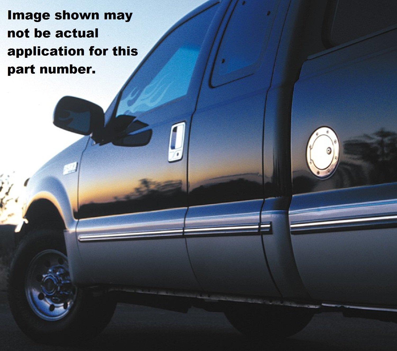 All Sales 6050GKL Billet Fuel Door
