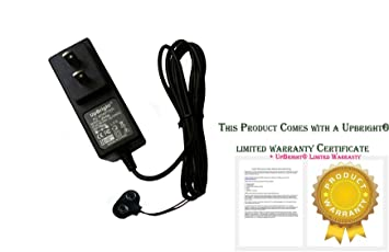 UpBright 9V 1000mA 1A Battery Clip Power Supply AC / DC Adapter Wall  Charger As 9VDC Batttery